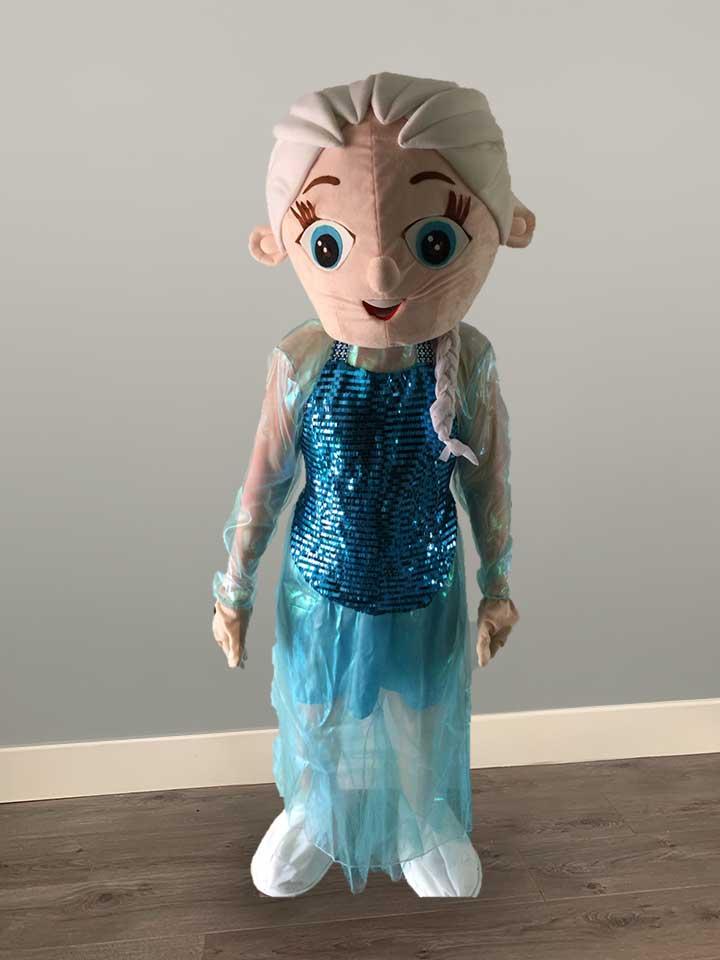 elsa frozen mascot hire