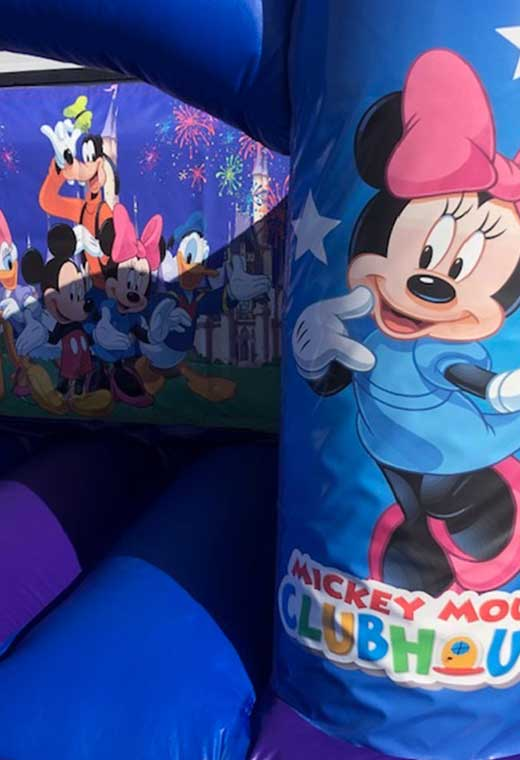 disney medium bouncy castle essex rental hire