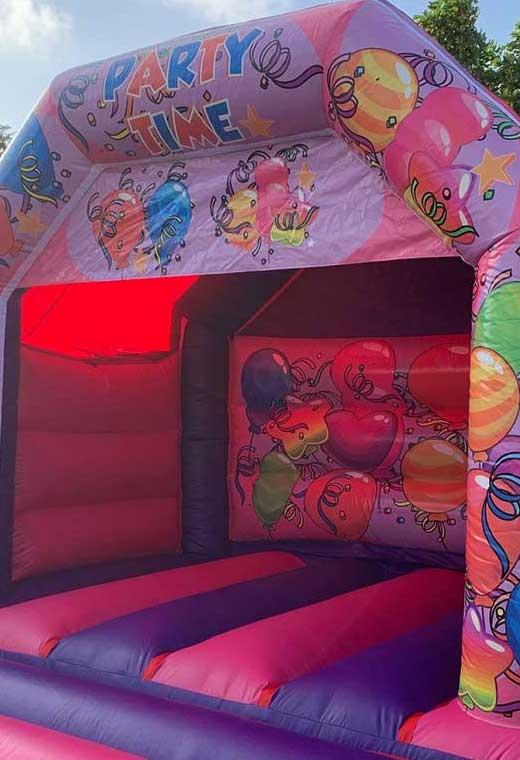 party medium bouncy castle essex rental hire