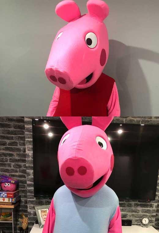 peppa pig hire costume rental essex