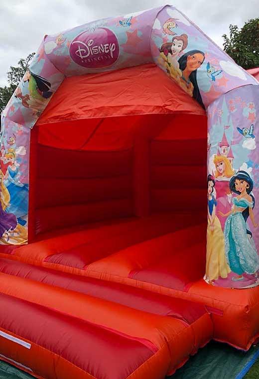 princess medium bouncy castle essex rental hire