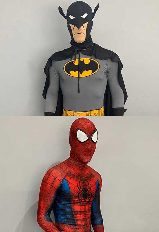 superhero hire costume rental essex