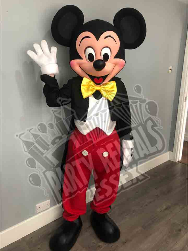 Mickey Mouse Mascot Costume Hire In Essex