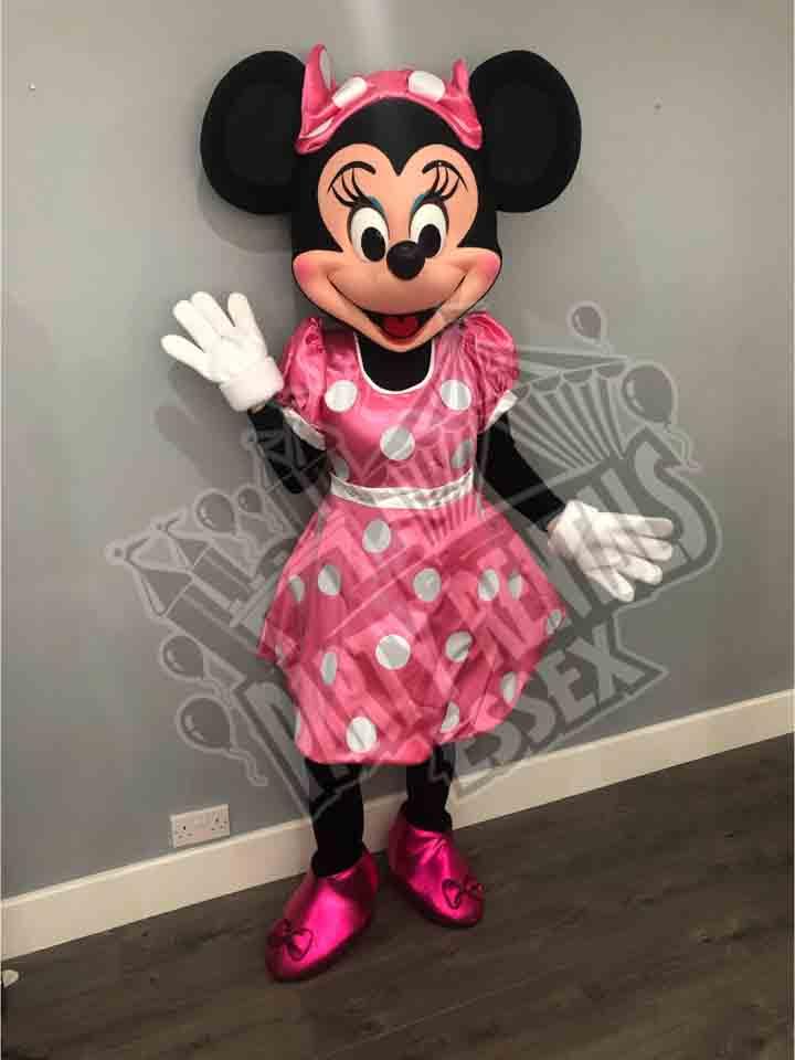 Minnie Mouse Mascot Costume Hire In Essex
