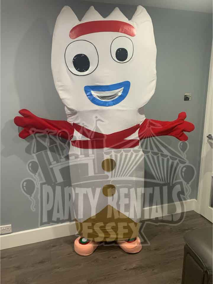 Toy Story Forky Mascot Costume Hire in Essex